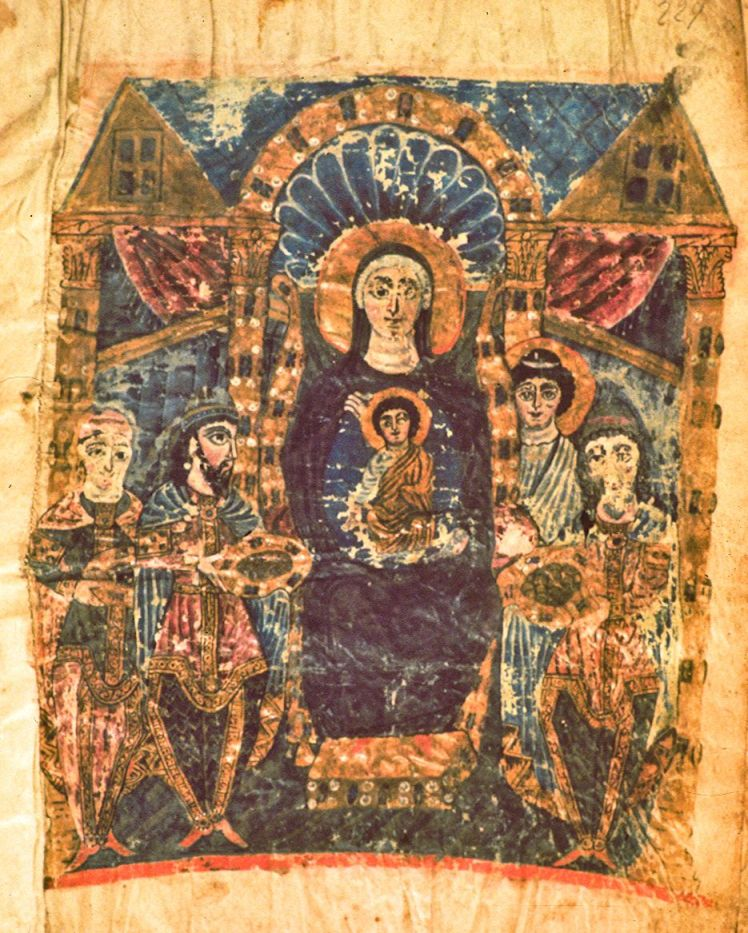 our lady in glory armenian
