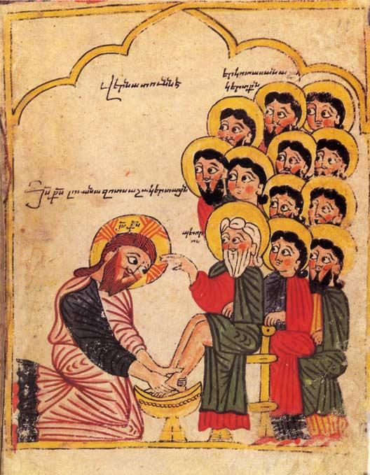 Armenian-Washing-of-Feet
