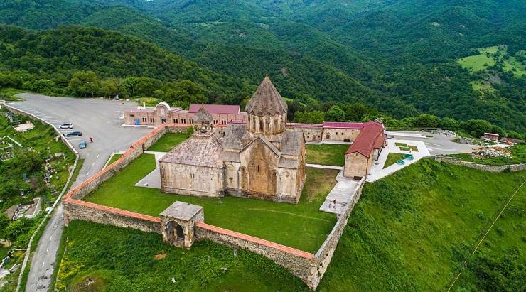 Ganzasar monastery view