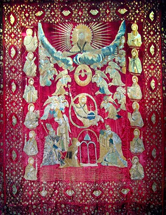 Curtain-of-the-senior-altar-of-Echmiadzin